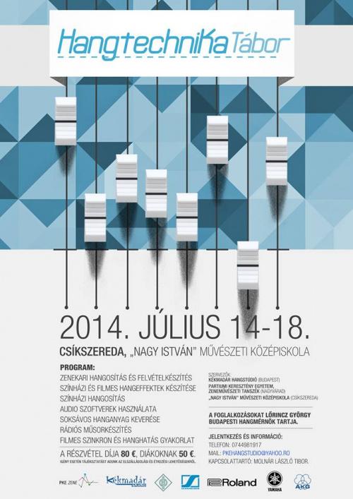 Hangtechnikatabor 2014