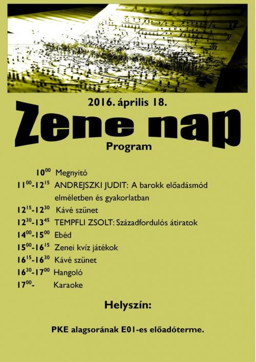 Plakat Zenenap 2016